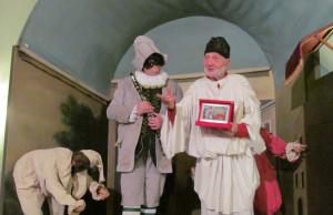 Dante Bruno, in artea 'Buscaja', ospite di Pulcinella