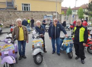 La mitica Vespa protagonista all'evento 'Verzuolo e le terre del Marchesato'