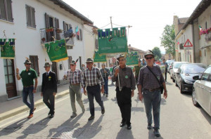 A Magliano Alfieri il 19esimo raduno degli alpini roerini (LE FOTO)