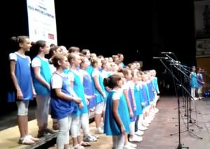 Il coro dell'istituto comprensivo di Busca secondo a Fano (IL VIDEO)