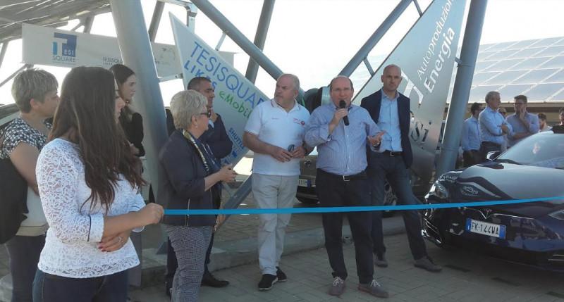 A Cherasco la ricarica di auto elettriche è possibile grazie a Emobility di Tesisquare