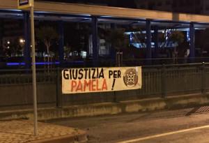 'Giustizia per Pamela': a Cuneo uno striscione esposto da CasaPound