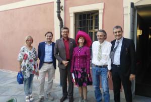Inaugurata a Santa Vittoria la nostra mostra del pittore Franco Gotta