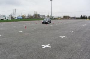 Corso di guida sicura per tutti gli automobilisti nell'area Miac a Cuneo