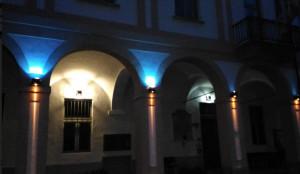 Anche Gaiola si 'illumina di azzurro' per la lotta ai tumori