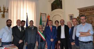 Cavalieri e Ufficiali al Merito braidesi ricevuti a Palazzo comunale