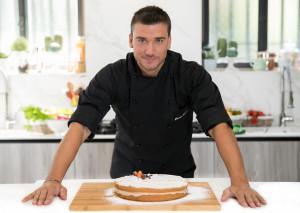 Damiano Carrara di 'Bake Off' all'Open Baladin di Cuneo