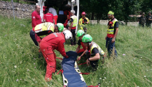Ciclista colto da malore al Pian delle Gorre, interviene il Soccorso Alpino