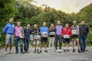 Leonardo Viglione trionfa nella cicloscalata del lago ad Entracque