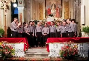 Il coro 'Ana Valle Belbo' ospite della corale 'La Marmotta' di Bernezzo