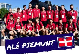 Tre atleti del Cuneo Volley a rappresentare il Piemonte