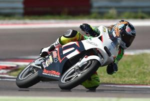 Arianna Barale debutta su una moto 250 Gp
