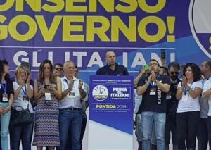 Gastaldi e Bergesio a Pontida con Salvini