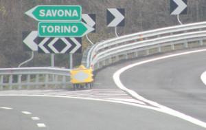 Sull'A6 il tratto tra Savona e Altare chiuso martedì notte