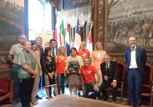 Cuneo: ricevute in Comune le delegazioni di Olanda, Danimarca, Cile e Polonia