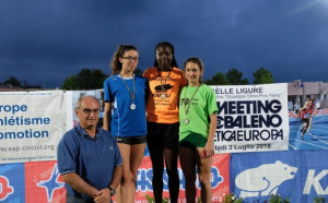 Atletica Mondovì: Cerri e Nemin primi al XXX Meeting Internazionale Arcobaleno