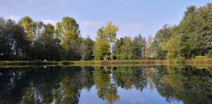 Gara di pesca alla trota per bambini al lago dei Gorets a Beinette