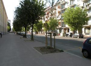 Cuneo: disagi temporanei per la realizzazione della pista ciclabile in Corso Brunet