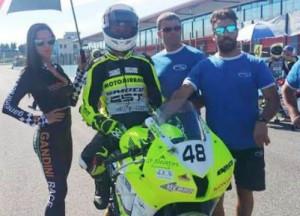 Francesco Curinga è sesto in Franciacorta,  nel quarto round del Trofeo Motoestate