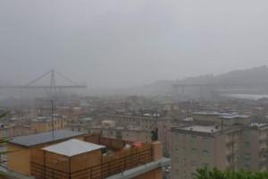Crolla il viadotto Morandi a Genova, potrebbero intervenire i Vigili del Fuoco di Cuneo