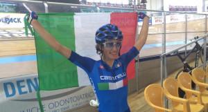 Ciclismo su pista: Elisa Balsamo d'oro agli Europei Under 23