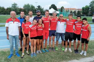 I portacolori dell'Atletica Mondovì in evidenza al 'Meeting delle Vacanze' a Fossano