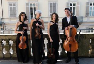 Il Quartetto Echos in concerto il 5 settembre in Villa Elisa a Busca