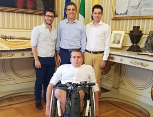 'Monviso in Movimento' ospite del sindaco di Parma Federico Pizzarotti