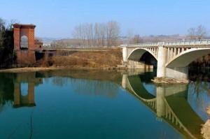 Ponte di Pollenzo: lavori di consolidamento con i proventi delle multe