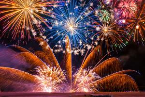Domani a Saluzzo i fuochi d'artificio per San Chiaffredo