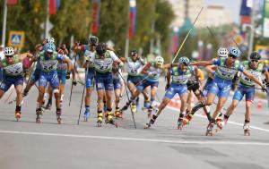 Skiroll, i fratelli Becchis protagonisti in Coppa del Mondo in Russia