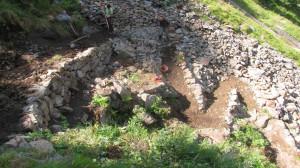 Interventi di miglioramento sul sentiero per il rifugio Genova