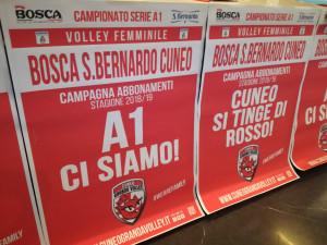 Volley A1/F: presentata la 'Bosca San Bernardo Cuneo'