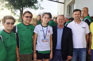 La buschese Anna Delfino vince il titolo regionale di Corsa in montagna