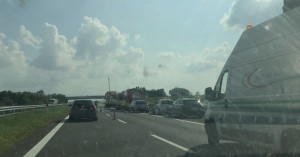 Camion a fuoco sull'autostrada Torino-Savona