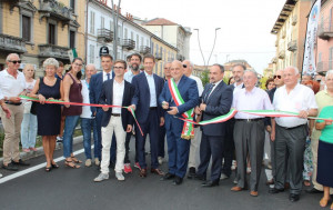 Alba: inaugurato Corso Italia. Ad inizio anno il restyling di via Roma