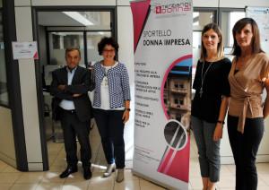 Inaugurato ad Alba lo sportello 'Donna Impresa'