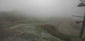 Nevica oltre i 2 mila metri: primo 'assaggio' d'inverno in provincia di Cuneo