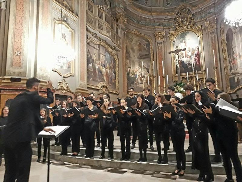 'Con Amores', concerto dell'Ensemble Vocale del Conservatorio di Cuneo a Roccaforte Mondovì