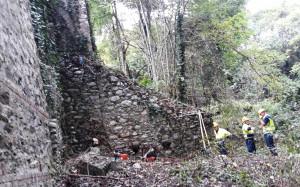 Busca, ripulite le sponde del ponte sul torrente Maira in frazione San Mauro