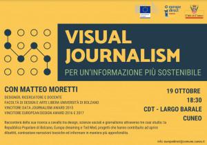 Cuneo, al Centro Documentazione Territoriale si parla di 'Visual Journalism'
