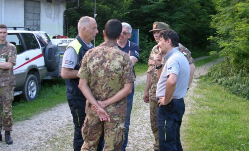 Imponente esercitazione della Protezione Civile a Fossano il 18 e 19 ottobre