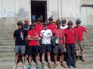 La Sezione di Cuneo settima al Campionato Nazionale Ana di Mtb