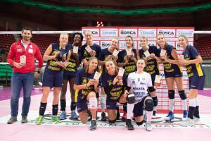 All'Imoco Volley Conegliano il primo Trofeo Kappa