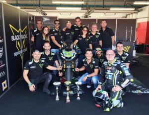 La Black Racing Squadra Corse di Roccavione campione d'Italia nella classe 600 Amatori