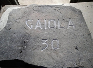 Il Comune di Gaiola a Biella per consegnare la pietra in memoria dei caduti della Grande Guerra