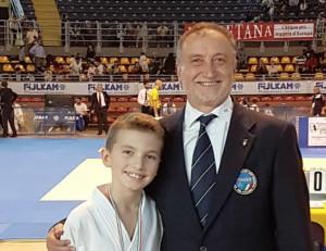 Judo, Yamato Boves: il giovane Paolo Stella secondo a Torino