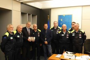 L'Ue premia la Protezione Civile di Cuneo: nata 20 anni fa, è stata la prima in Italia