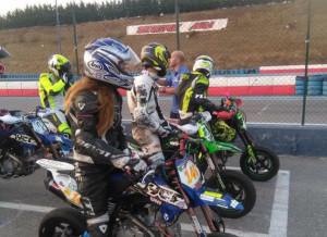Motociclismo: Francesca Cagna prima delle 160 cc nella Pit Bike Race 'Coppa YCF'