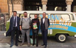 Ai Comuni di Cuneo e Roccabruna, insieme al Consorzio Cec, il premio 'Humana Eco Solidarity'